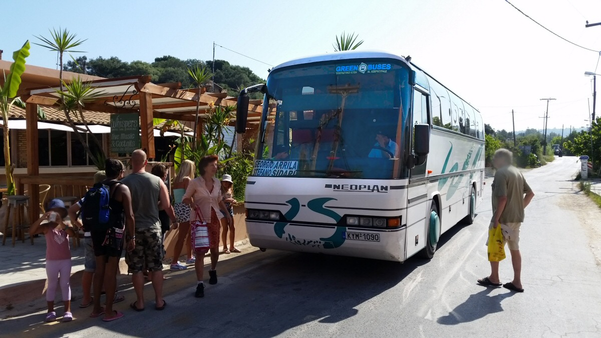 Arillas local bus time table