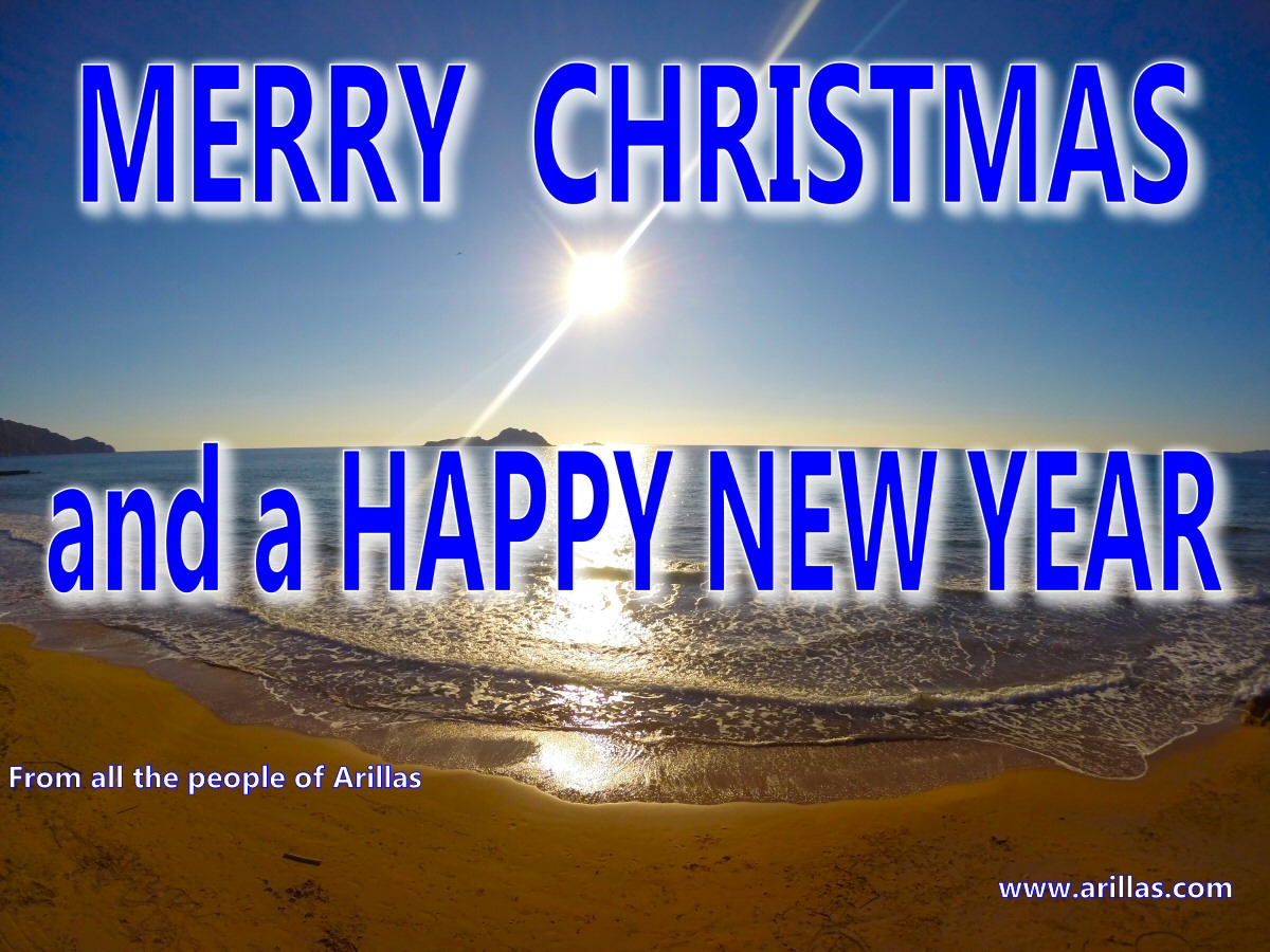 Merry Christmas from Arillas Corfu Greece