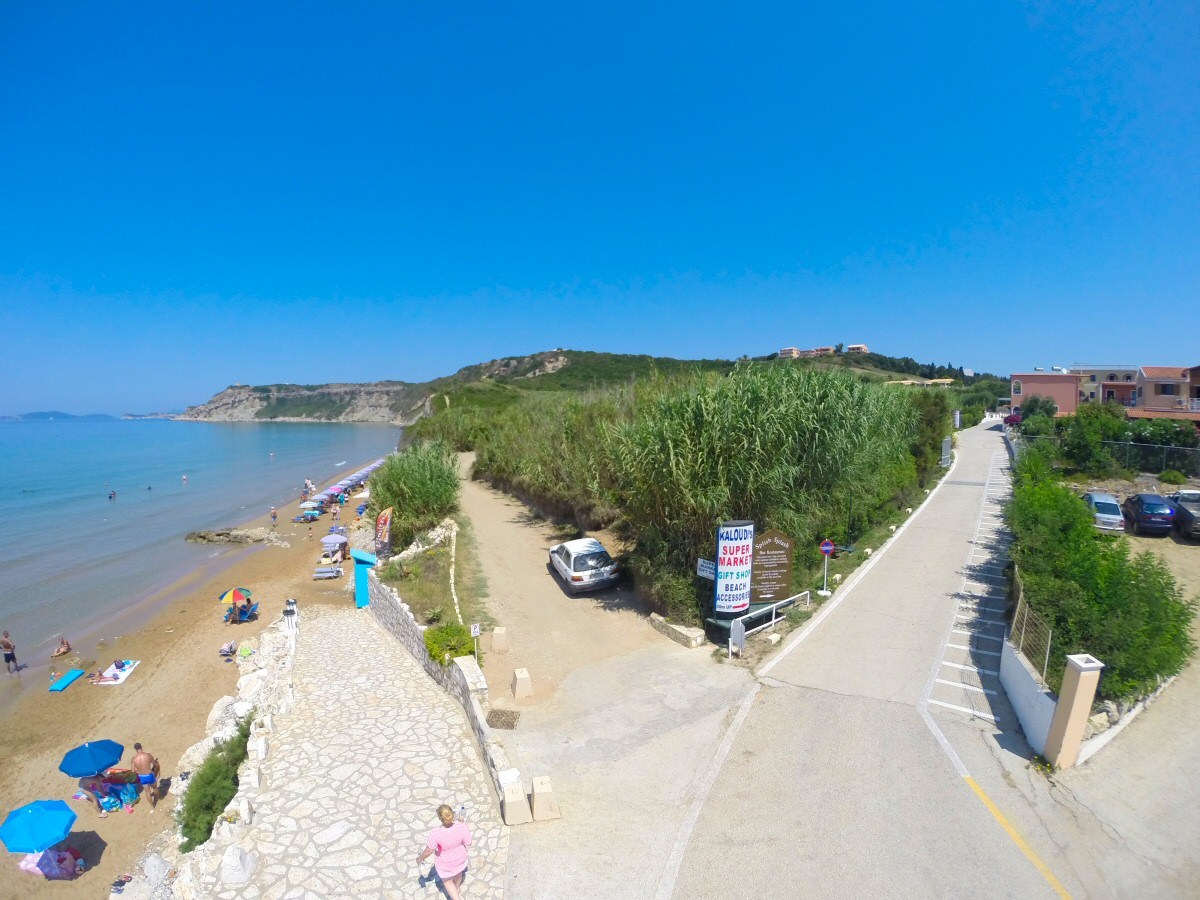 Arillas Beach end of July