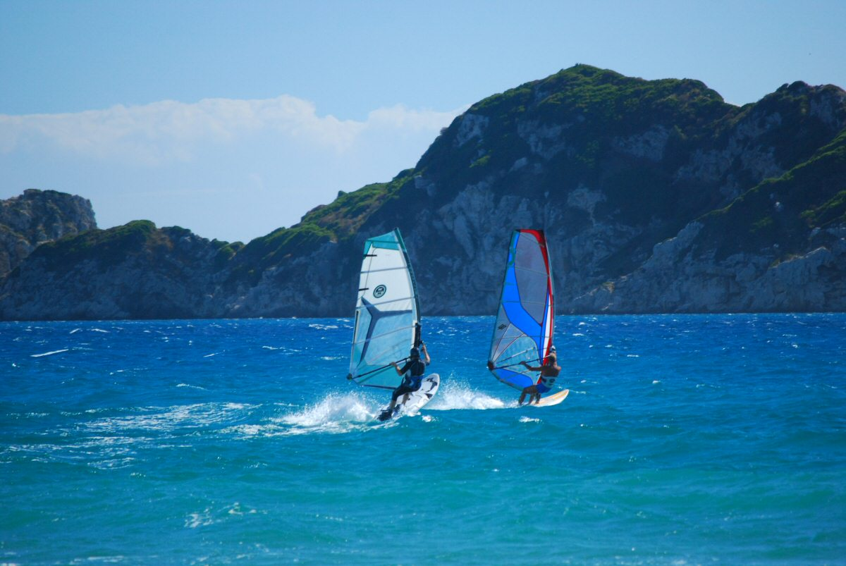 WINDSURFING IN ARILLAS