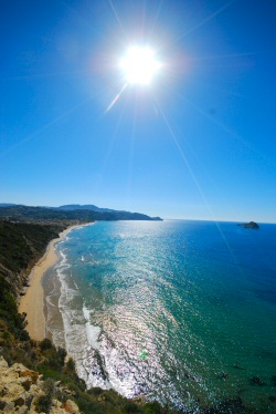 Arillas Beach report