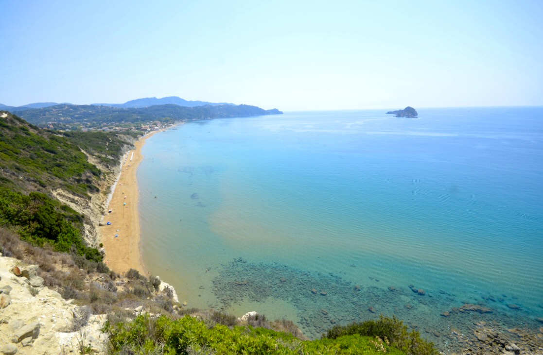Arillas Corfu August 2019