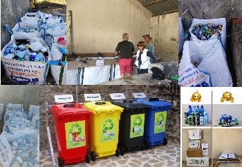 Voluntary Recycling Centre in Arillas