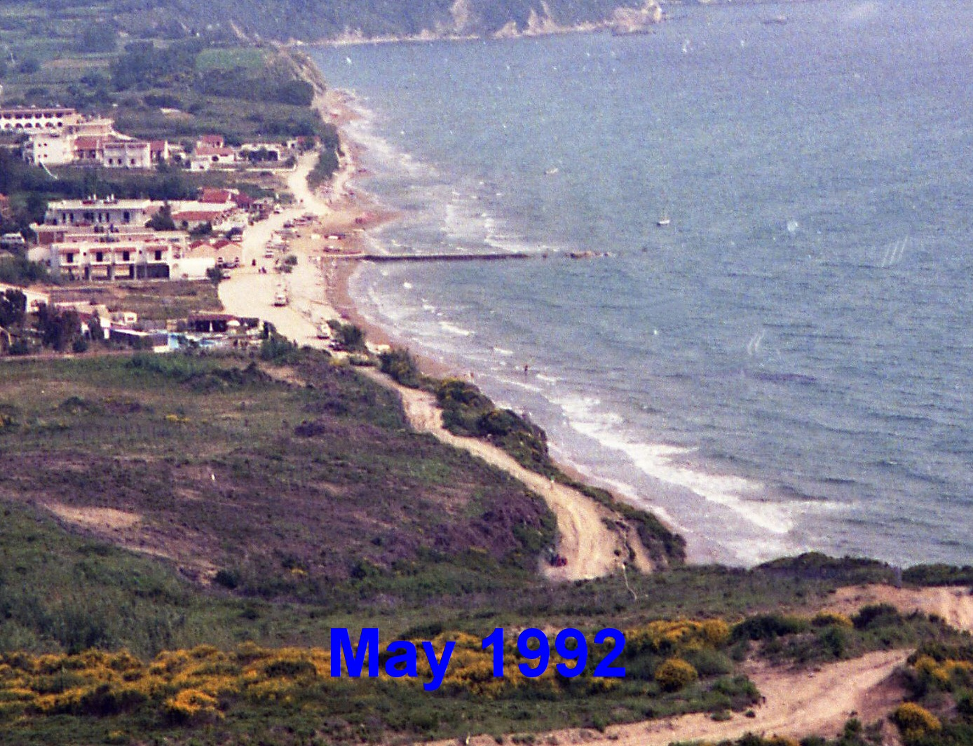 Arillas Beach May 1992