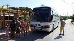 Arillas local bus route