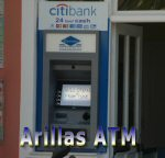 ATM in Arillas Corfu