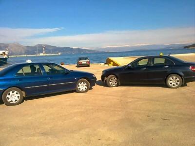 Corfu cabs