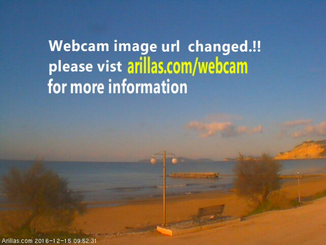 Arilas Corfu Webcam
